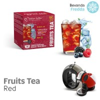 Red Fruits Ice Tea